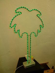 Palm Lamp © Maria L. Felixmueller