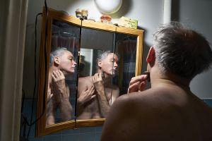 Shaving in the Upper East Side