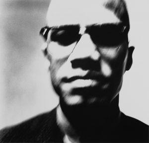 Malcolm X, Black Nationalist leader, New York, March 27, 1963, © 2008 The Richard Avedon Foundation