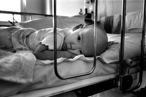 Anastasia, 3 years old, aplastic anaemia, oncology children's hospital, Lesnoie Borovlyany, Minsk (Belarus) © Pierpaolo Mittica