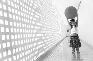 At the corridor