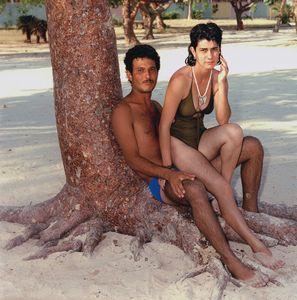 Couple on the Beach, Trinidad, Cuba 1989