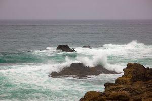 Tide Changes, Pt. Cabrillo near Ft.  Bragg, California