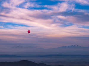 Pink Moroccan Sky