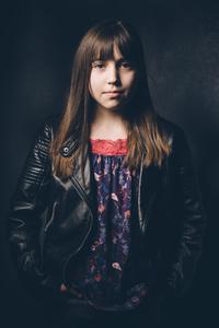 Lottie aged 11.