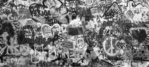 Lennon's Wall, Prague