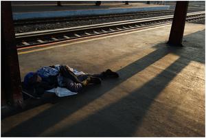 Street Photography - Sleeping Series 05 (Indonesia)