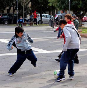 Street football, Italy  04