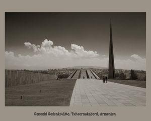 Genozid Gedenkstätte, Tsitsernakaberd, Armenien