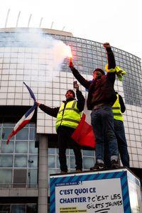 Gilet Jaunes Protest  - January 2019_1