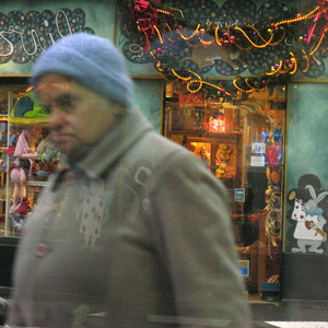 Reflecting/Mirror/Window. Rue Daguerre. Paris 14 ème. 2008