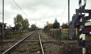 and the train line