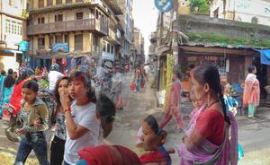 Sunday shopping Kathmandu, Nepal.