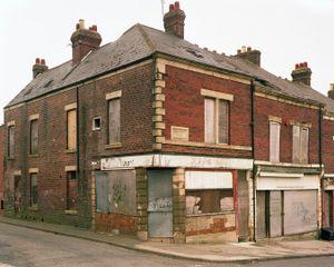 Corner Shop, Benwell, Newcastle, England