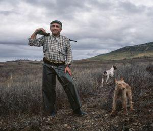 Daniel Pinto, hunter. © Antonio Pedrosa