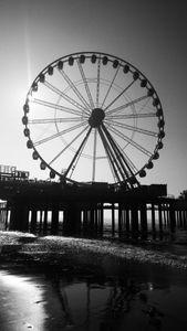 Ferris on the Beach.