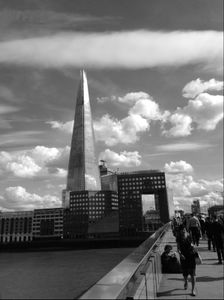 The Shard, Seen From London Bridge