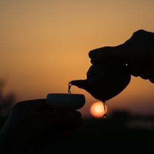 Tea at sunset 2