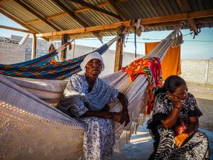 The harsh desert sun means that every line, memory and emotion is etched on the faces of the older generation of La Guajira.