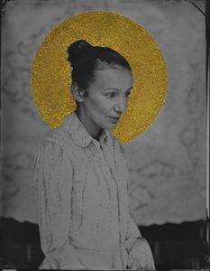 © Zelko Nedic, St. Natalija               8x10 Tintype, Hand Coloured