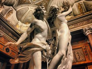 They were caught dancing all night in the Villa Farnese