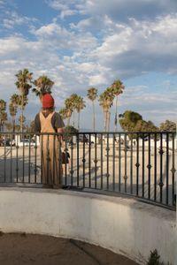 Skateboarder in Santa Barbara.