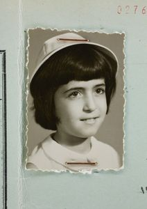 Afsaneh Mobasser, age 11