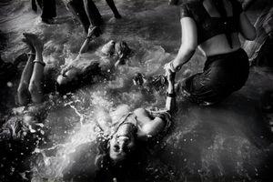 Women at Ganga Sagar