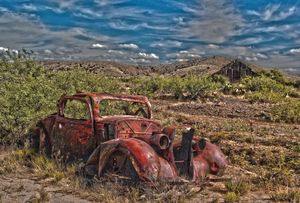 The Old Red Car