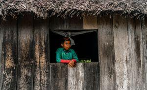 Home of a Murui boy