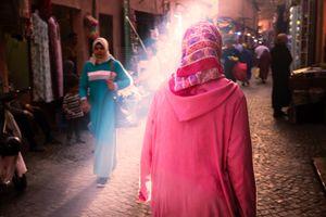 Morning light in the Medina
