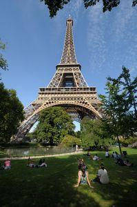 Eiffel Tower arms