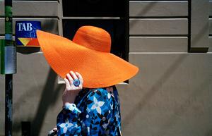 Orange hat, 2012