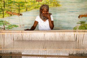 Etiopia 2017 timida tessitrice