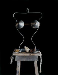 Still Life with a Metal Torso               (For Marion de Beaupre), Studio, Paris