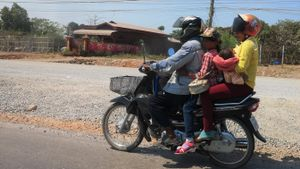 5 Cambodge On the road