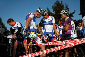 Gruyère cycling tour, Bulle. Avant le départ, Gruyère cycling tour, Bulle