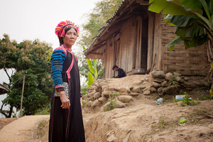 La Hu lady in Lai Chau Province