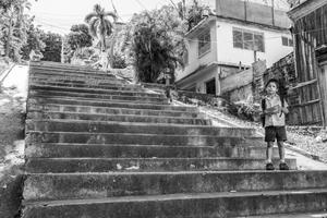 Escalinata de Calle 4 entre Gasómetro e Indio, 2011