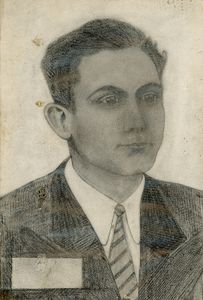Self-portrait of grandfather António in 1954, 2018