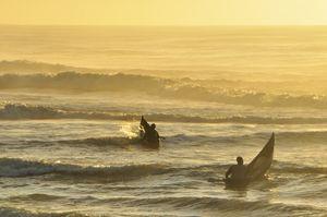 Madagascan fishermen