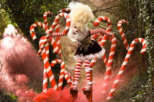 'The Candy Cane Witch'
