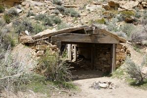 Abandoned Mining Camp, Colorado: Machine Shed.