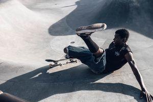 Break skate dance
