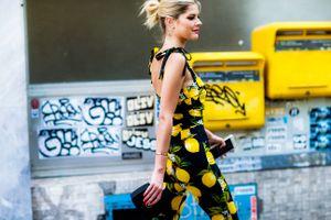 Yellow, Paris Fashion Week.