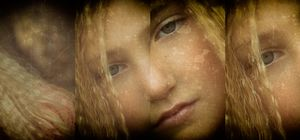 Girl With the Braids Series - Hug the Tree