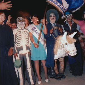 Pro-Democracy Demonstration, Guetamala City 1987