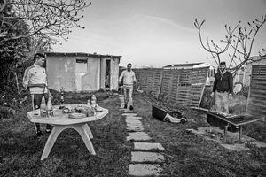 Le barbecue dans le jardin de Stéphane Kobi