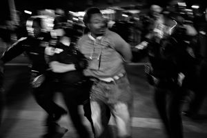 Baltimore, MD- A man was arrested for disorderly conduct by the Baltimore Police Department.
