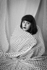 Self Portrait (Polka Dot Blanket)